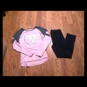 Girls Children's Place matching outfit 10/12